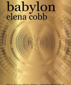 Babylon fro piano by Elena Cobb