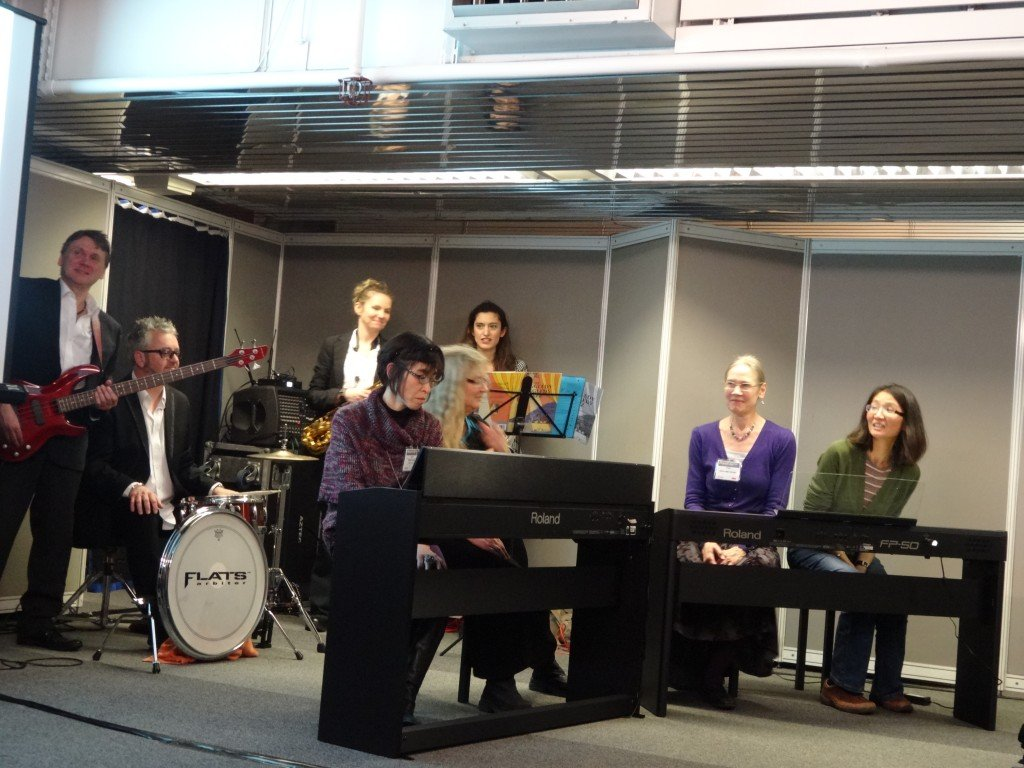 Elena Cobb Jazz Workshop For Classically Trained Pianists At MusicExpo 2014 London