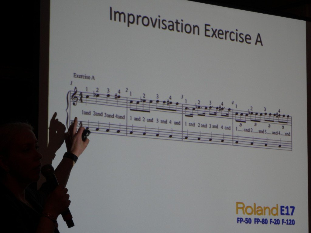 Photos From Elena Cobb Workshop At The MusicExpo 2014 In London