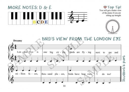 Birds View From the London Eye Elena Cobb Student Part EVC Music