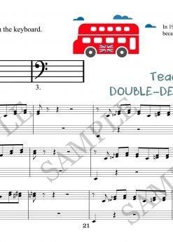Double Decker Bass Elena Cobb Teacher part EVC Music