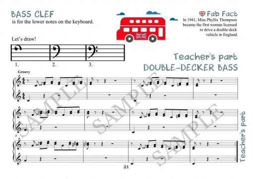 Double Decker Bass Elena Cobb Teacher part EVC Music