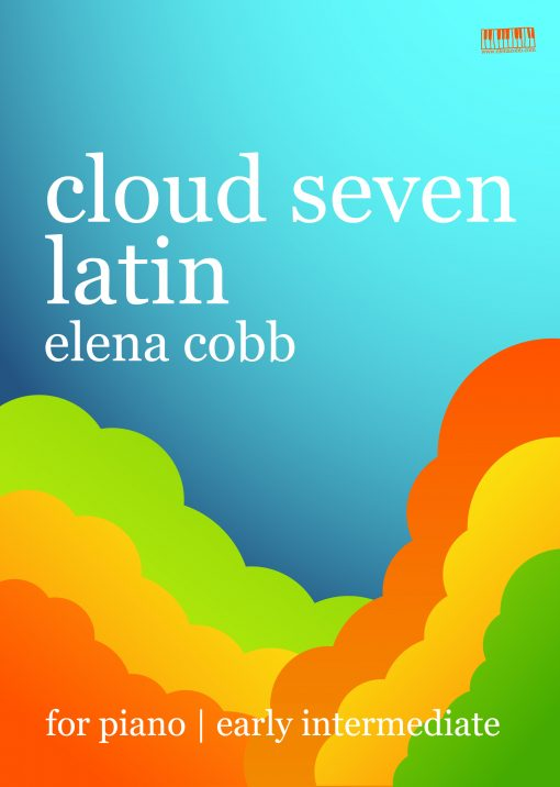 Cloud Seven Latin for piano by Elena Cobb