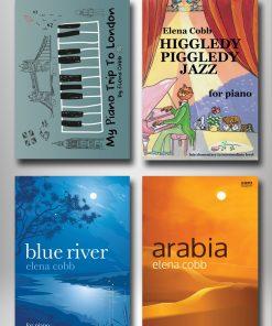 Piano Books by Elena Cobb