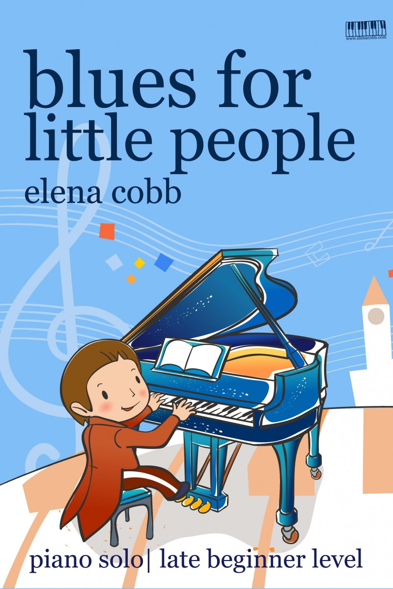 Blues for Little People by Elena Cobb from Higgledy Piggledy Jazz DL