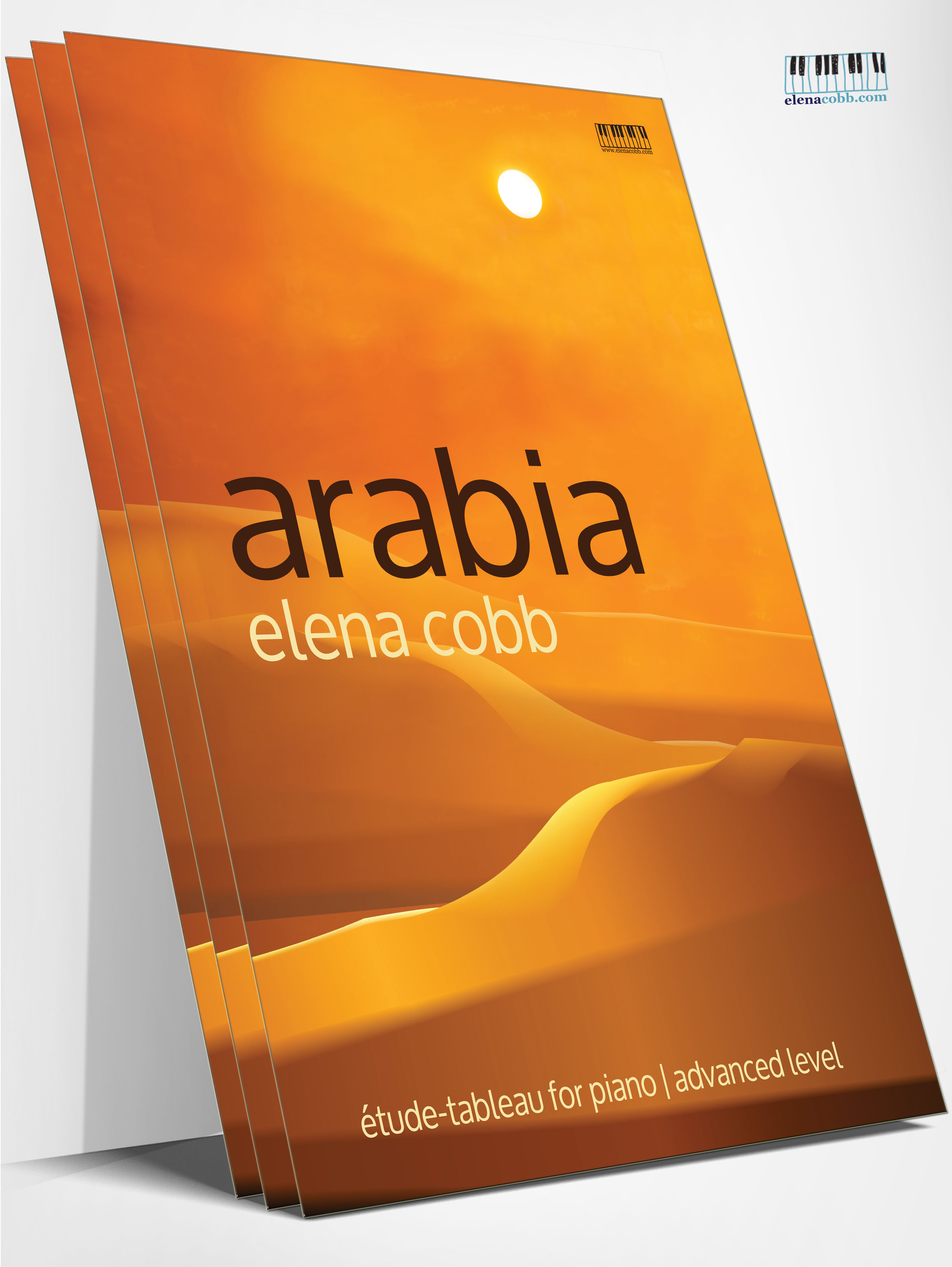 Arabia tudes tableaux for piano solo by elena cobb arabia tude tableau baditri Images