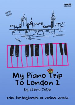 My Piano Trip To London 2 by Elena Cobb