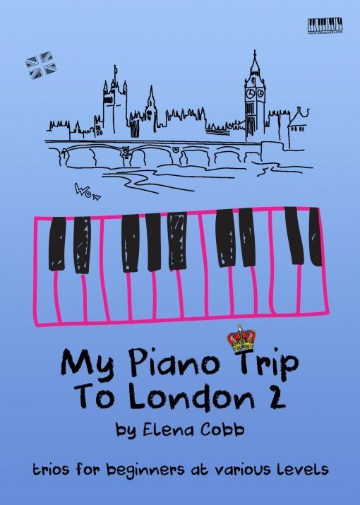 My Piano Trip To London 2 by Elena Cobb