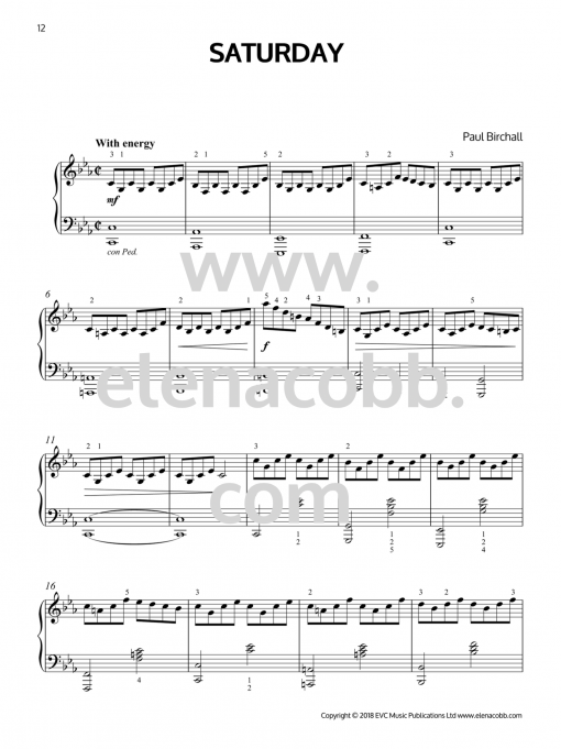 Saturday Daily Expressions Book 2 Paul Birchall EVC Music