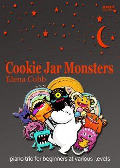 Cookie Jar Monsters Piano Trio E Cobb EVC Music