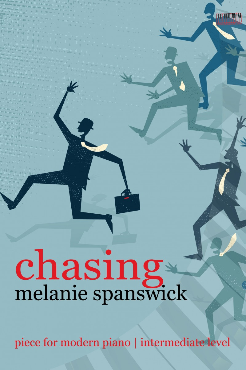 Chasing for piano by Melanie Spanswick