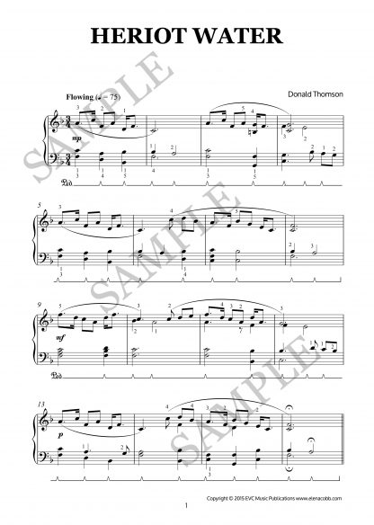 A Borders Suite for piano by Donald Thomson