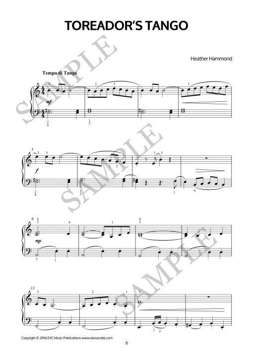 Piano Olé! by Heather Hammond