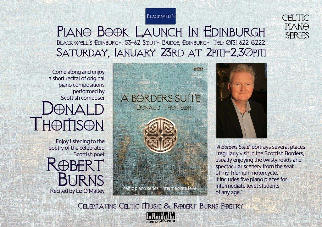 Celtic Piano Series Launch Edinburgh