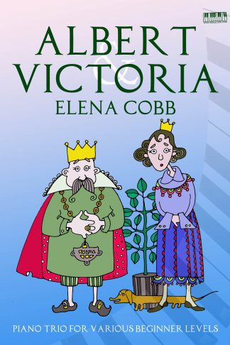Albert & Victoria piano trio by Elena Cobb