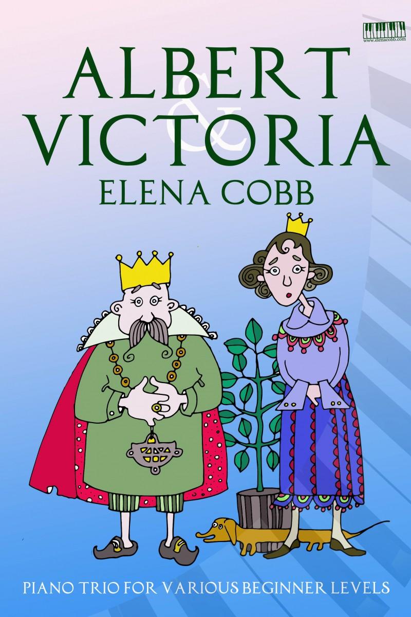 Albert & Victoria piano trio by Elena Cobb
