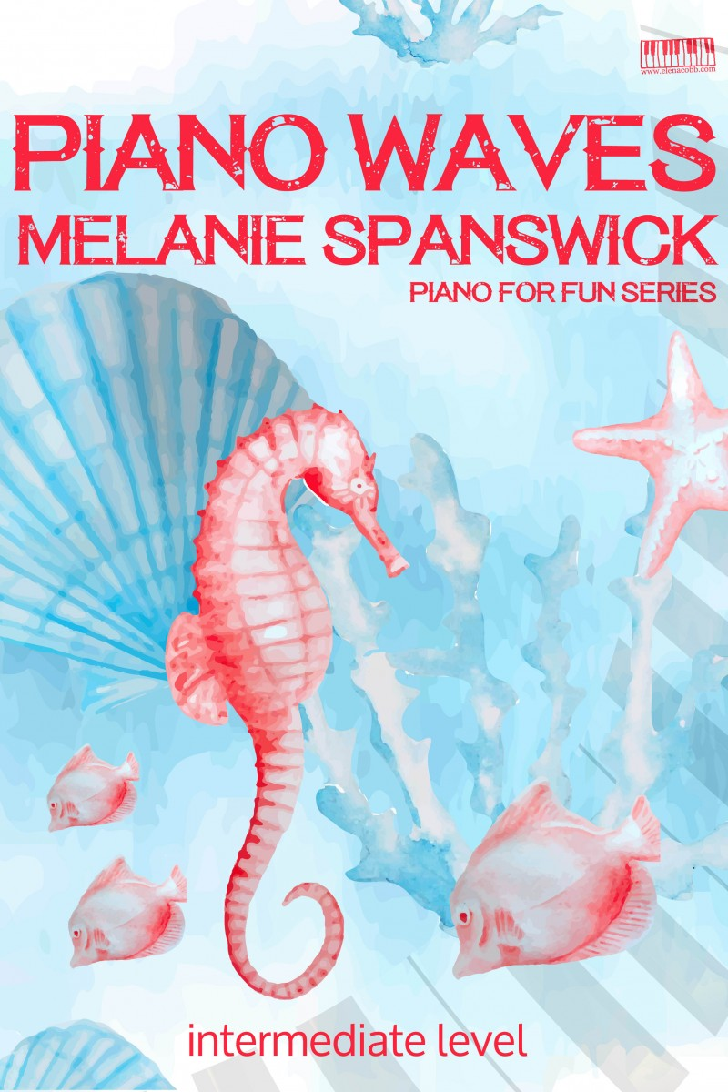 Piano Waves by Melanie Spanswick