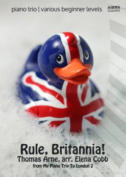 Rule Britannia piano trio arr Elena Cobb