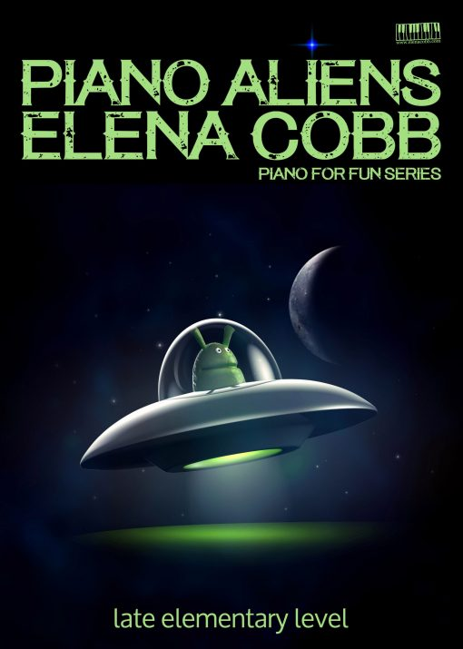 Piano Aliens for piano Elena Cobb