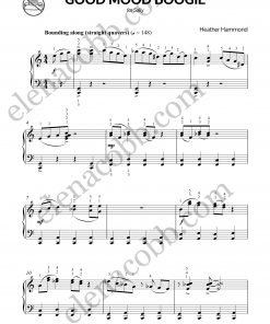 Good Mood Boogie for piano Heather Hammond p1