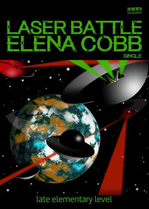 Laser Battle for piano Elena Cobb