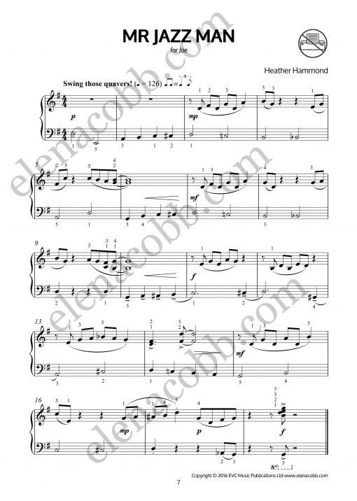 Mr Jazz Man for piano Heather Hammond p1