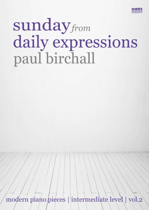 Sunday for piano by Paul Birchall EVC Music