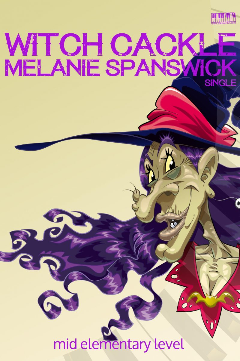 Witch Cackle by Melanie Spanswick