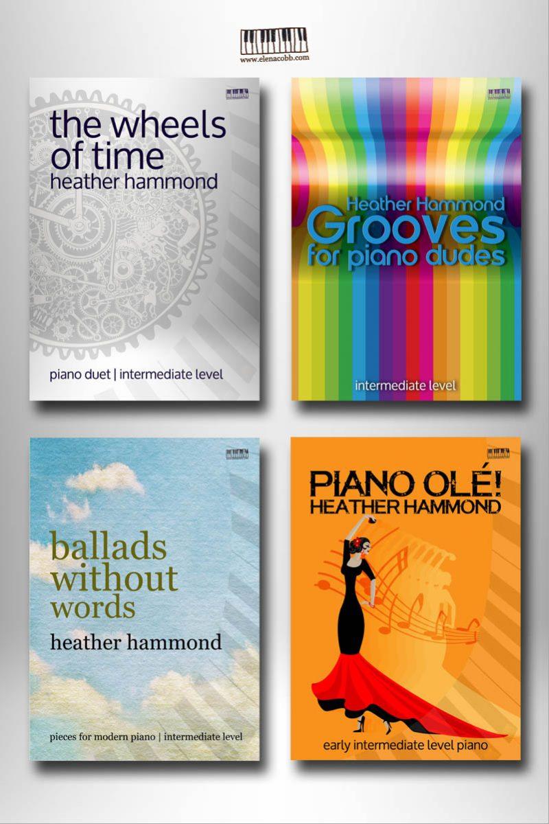 Heather Hammond Piano Books Pack