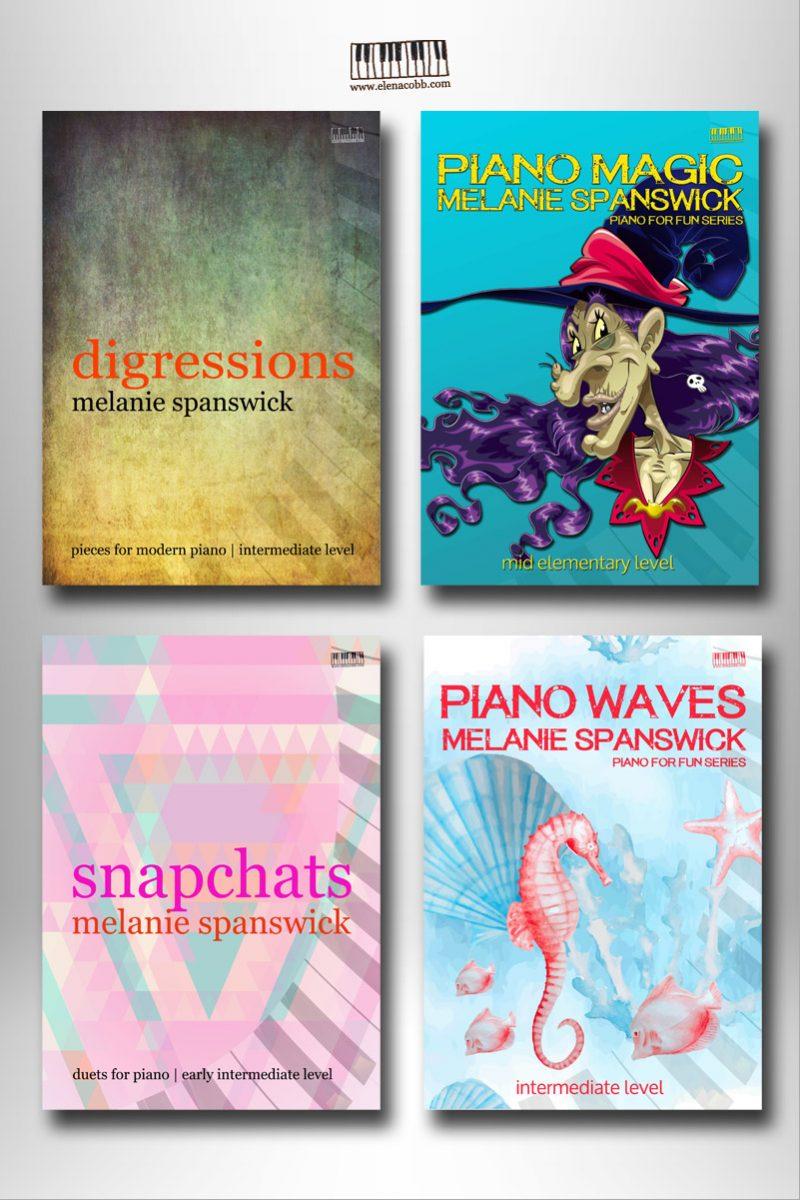 Melanie Spanswick Piano Books