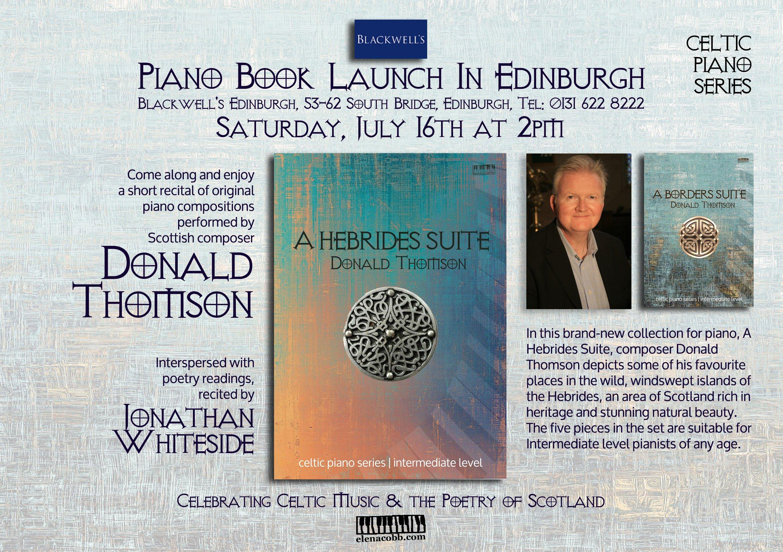 Celtic Series Launch Blackwell's Edinburgh