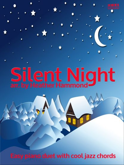 Silent NIght Easy PIano Duet Heather Hammond