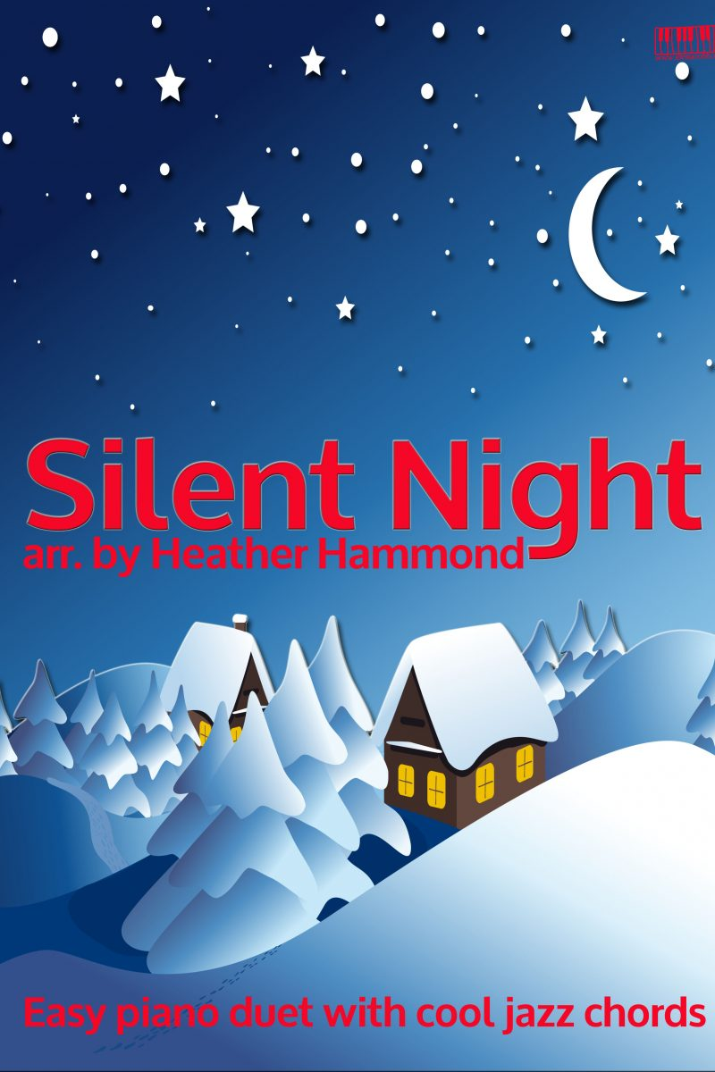 Silent NIght Easy PIano Duet Heather Hammond