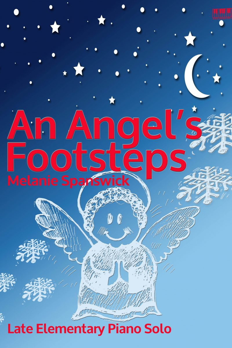 An Angel's Footsteps Piano Melanie Spanswick EVC Music