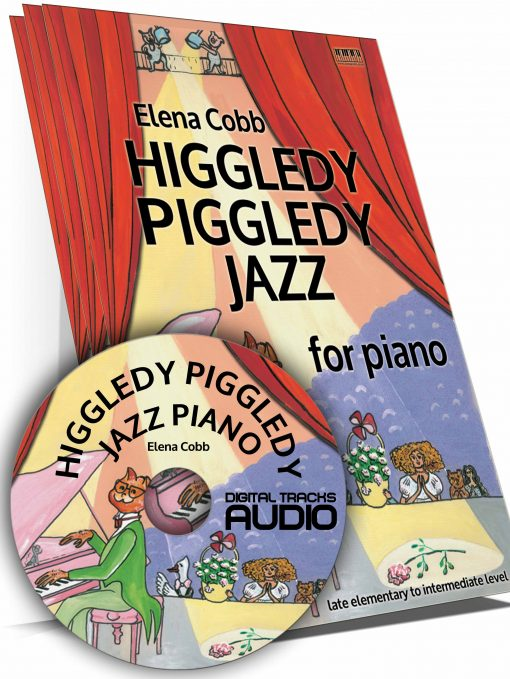 HPJ Piano Book and Audio Files Elena Cobb EVC Music