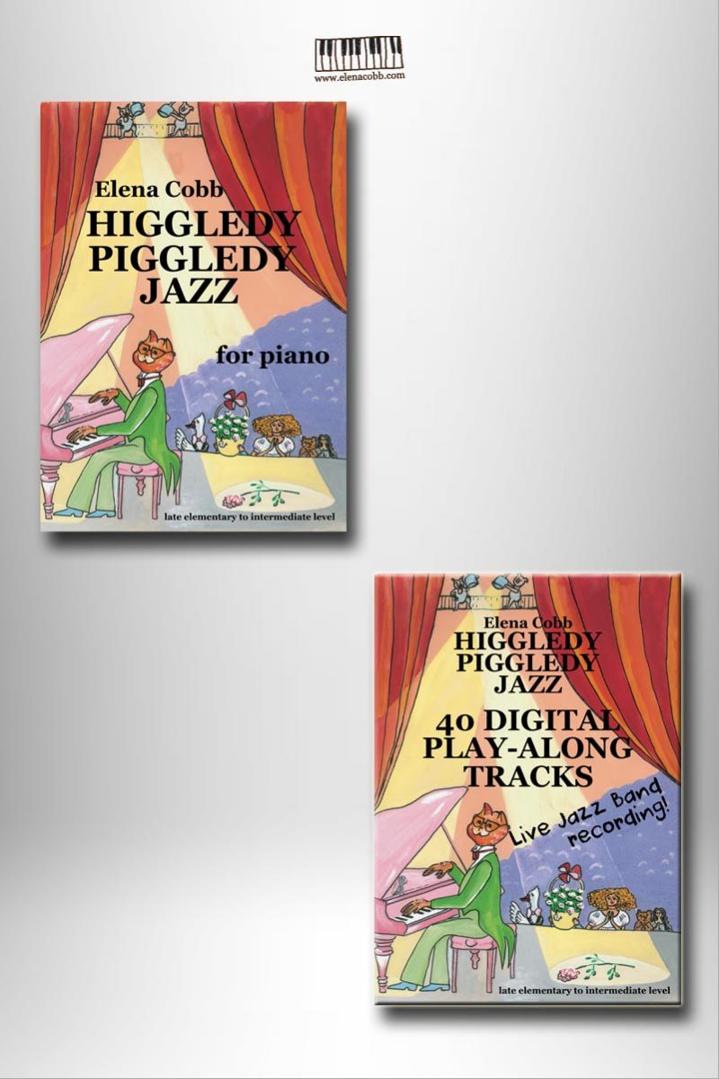 Higgledy Piggledy Jazz book with play-along tracks