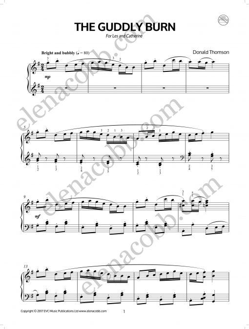 The Guddly Burn Donald Thomson EVC Music p1