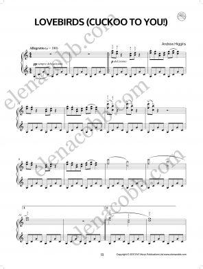 Lovebirds Piano Andrew Higgins EVC Music