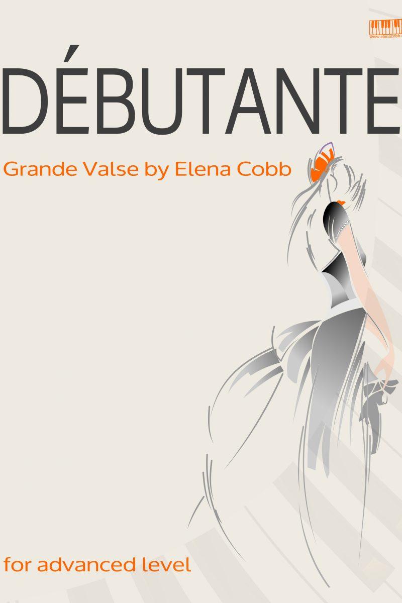 Debutante Grande Valse Piano Elena Cobb EVC Music