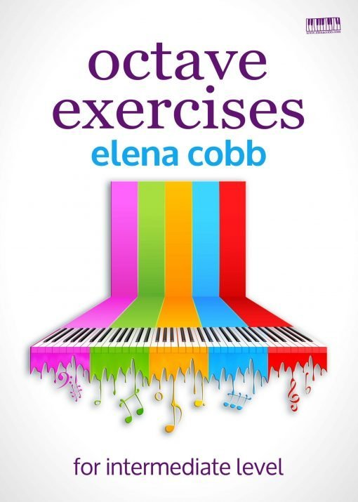 Octave Exercises Piano by Elena Cobb