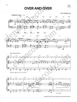 Over & Over Sam Wedgwood Jazz Piano p1