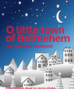 O Little Town of Bethlehem Piano Duet H.Hammond