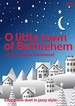 O Little Town of Bethlehem Piano Duet H.Hammond