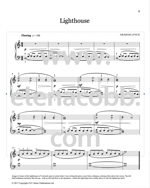 2. Lighthouse Graham Lynch Sound Sketches vol 1