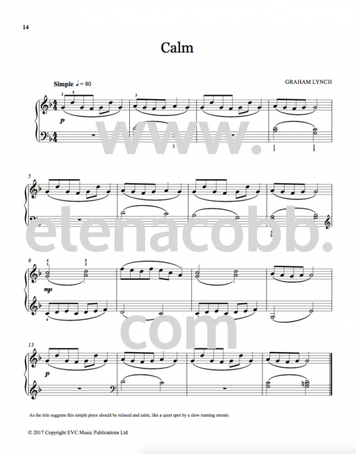 9. Calm Graham Lynch Sound Sketches vol 1