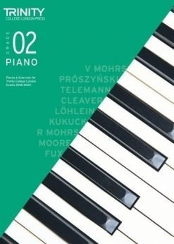 Trinity College London Piano Exam Pieces & Exercises 2018-2020 Grade 2