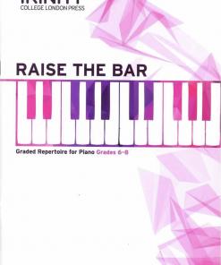 Trinity Raise the Bar Piano Book 3 Grades 6-8