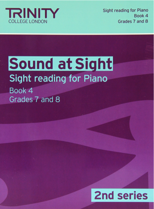 Trinity Sound at Sight Piano Book 4 Grades 7-8