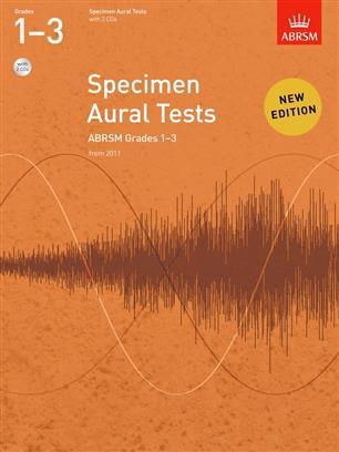 ABRSM Specimen Aural Tests, Grades 1-3 with CDs